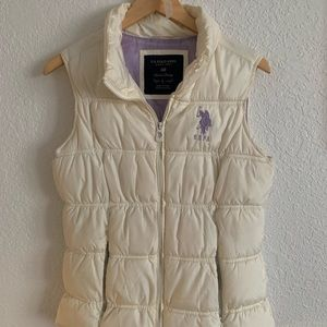 🌸Polo puffer vest